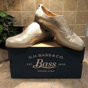 G.H.Bass & Co. Dylan, Gold women's 7.5